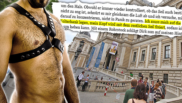 Wiener Studentenblatt bringt Sado-Maso-Storys (Bild: thinkstockphotos.de (Symbolbild), univie.ac, krone.at-Grafik)
