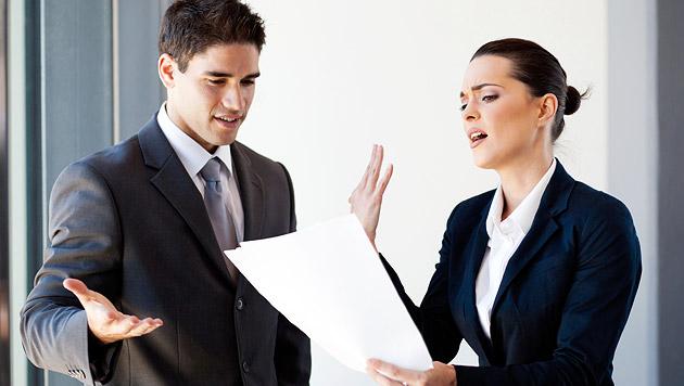 Schon jeder Vierte ist im Job stark stressbelastet (Bild: thinkstockphotos.de)
