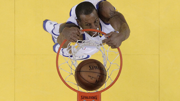 Andre Iguodala von den Golden State Warriors (Bild: Ben Margot)