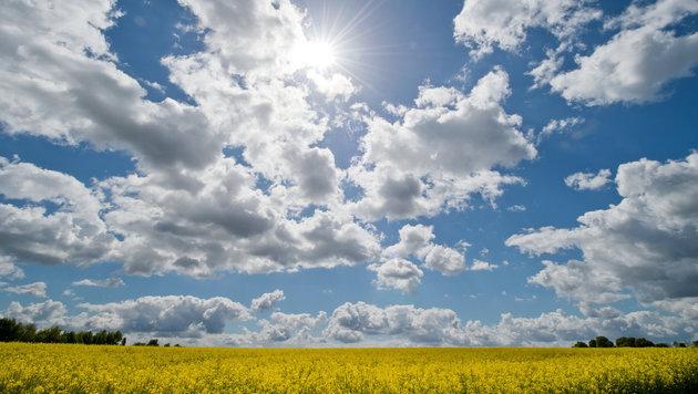 Auf verregneten Freitag folgt wieder Sonnenschein (Bild: APA/dpa/Boris Roessler)