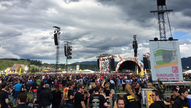Spielberg: Kultband AC/DC rockte vor 105.000 Fans (Bild: APA/WERNER MÜLLNER)