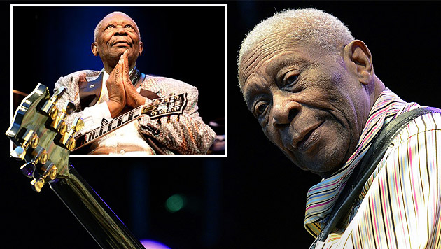 US-Blues-Legende B.B. King gestorben (Bild: Andreas Graf, APA/EPA/WALTER BIERI)