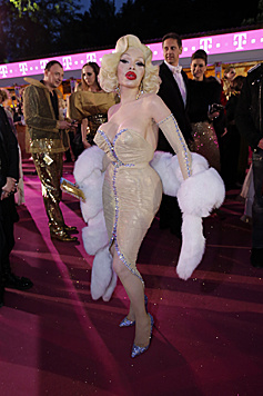 Amanda Lepore als Marilyn Monroe (Bild: Klemens Groh)