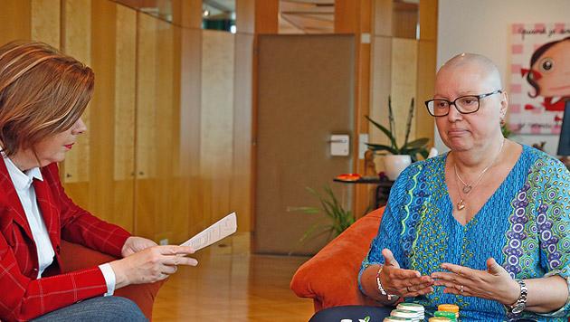 Gesundheitsministerin Sabine Oberhauser im Gespräch mit Conny Bischofberger (Bild: Martin A. Jöchl)