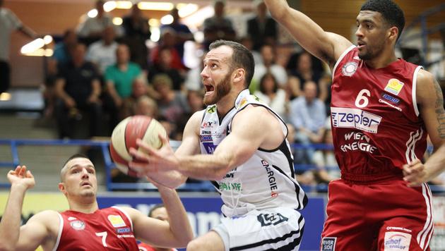 """BC Vienna zieht mit """"sweep"""" in Finalserie ein (Bild: GEPA)"""