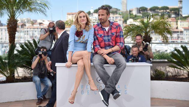 Diane Kruger und Matthias Schoenaerts (Bild: AFP)