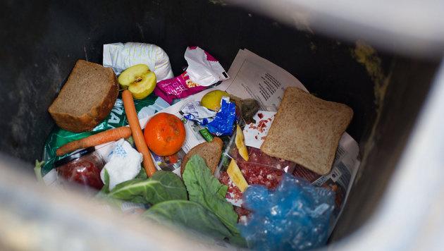 Eine Million Tonnen Lebensmittel landen im Müll (Bild: APA/dpa-Zentralbild)