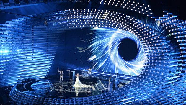 Jubel und Gänsehaut bei erster Show mit Publikum (Bild: APA/EPA/ROBERT JAEGER)