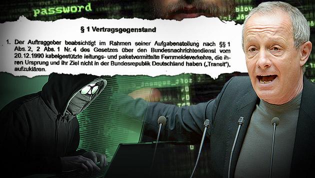 So wurden wir von den Deutschen ausspioniert (Bild: APA/ROLAND SCHLAGER, thinkstockphotos.de, Krone, krone.at-Grafik)