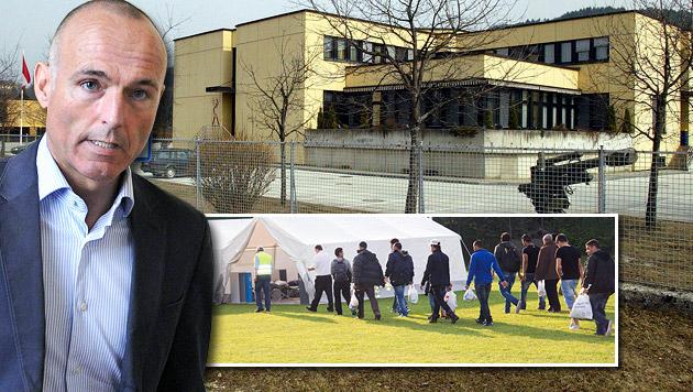 Asyl: Bürgermeister wehren sich gegen Klugs Pläne (Bild: Klaus Kreuzer, APA/HERBERT PFARRHOFER, APA/FRANZ NEUMAYR)