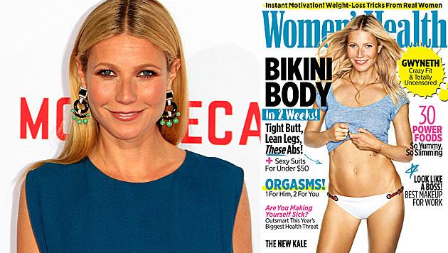 """Gwyneth Paltrow verrät das Geheimnis hinter ihrer Traumfigur. (Bild: APA/EPA/NINA PROMMER, Women""""s Health)"""