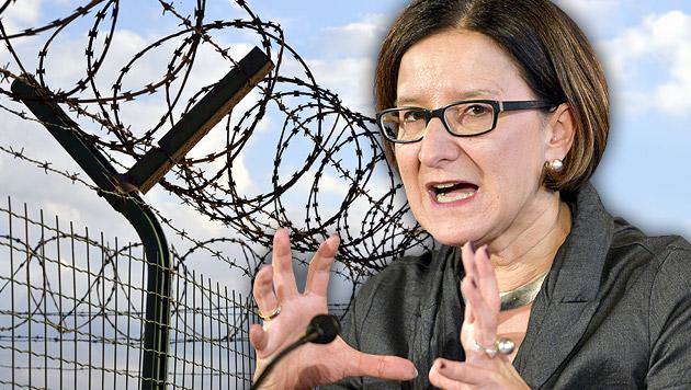 "Mikl-Leitner fordert ""Hochziehen"" der EU-Grenzen (Bild: APA/HERBERT NEUBAUER, thinkstockphotos.de)"