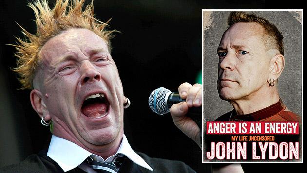 "Sex Pistol John Lydon: ""Bin knallhart gestört"" (Bild: BALAZS MOHAI/EPA/picturedesk.com, Simon & Schuster Ltd.)"