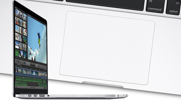 Macbook Pro bald mit OLED-Display statt F-Tasten? (Bild: Apple, krone.at-Grafik)