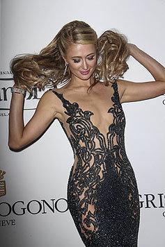 Die Lichter gehen aus, als Paris Hilton in diesem heißen Fummel auf einer Cannes-Party erscheint. (Bild: Viennareport)