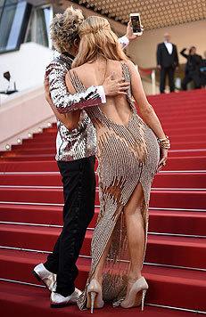 "Hier ""Po-siert"" niemand Geringeres als Paris Hilton. (Bild: EPA)"