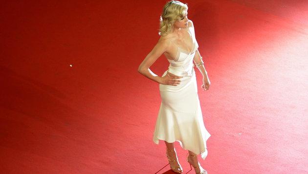 Die französische Schauspielerin Cecile Cassel (Bild: AFP)