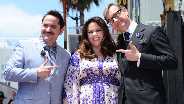 Ben Falcone, Melissa McCarthy, Paul Feig (Bild: Richard Shotwell/Invision/AP)