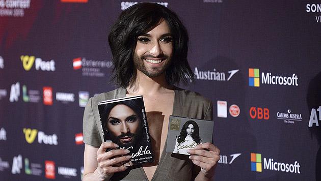 Conchita: 100.000 Euro für vier Tage Song Contest (Bild: APA/EPA/ROBERT JAEGER)