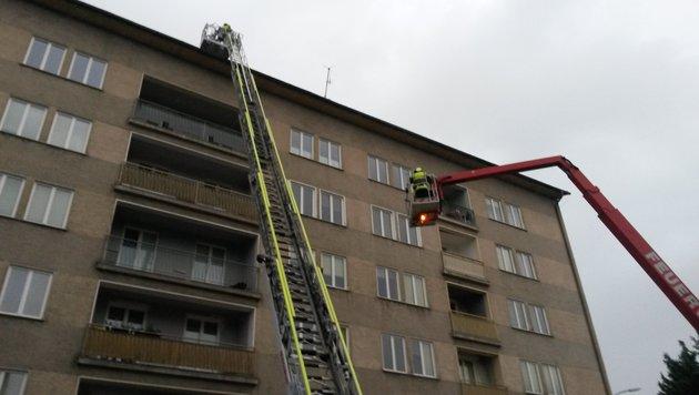 Unwetterschäden in Villach (Bild: HFW Villach/KK)