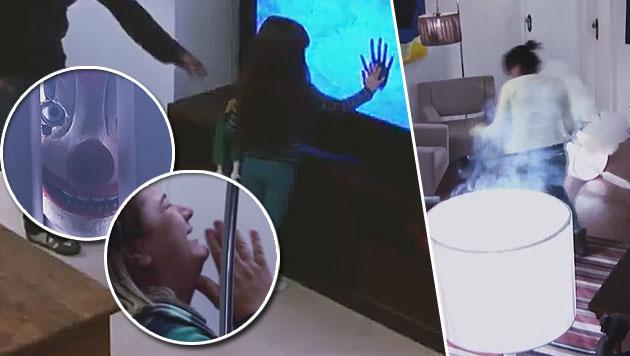 Poltergeist versetzt Hausangestellte in Panik (Bild: YouTube.com)
