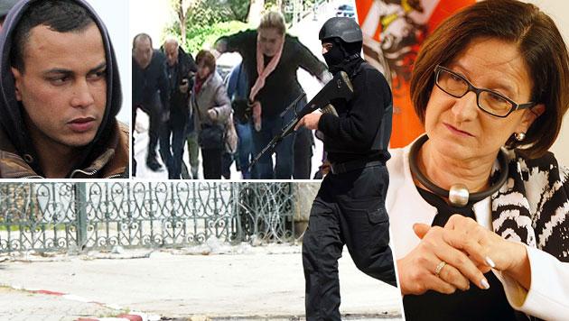 In Tunis kamen 24 Menschen ums Leben - dem Drahtzieher des Anschlags gelang die Flucht nach Italien. (Bild: AFP, AP, Zwefo)
