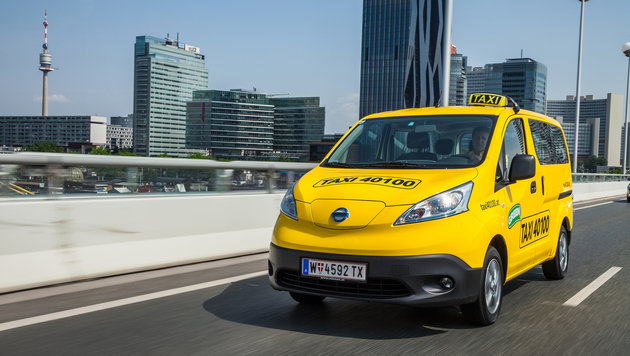 Wiener Stadtwerke starten großes E-Taxi-Projekt (Bild: Taxi 40100)