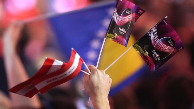 Die Fans des Song Contests (Bild: APA/GEORG HOCHMUTH)