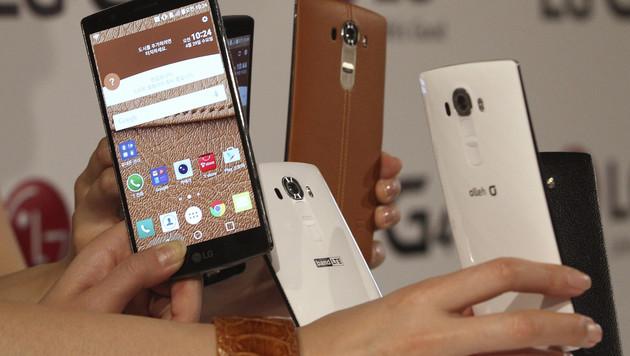 310 Mio. Smartphones im ersten Quartal verkauft (Bild: AP)