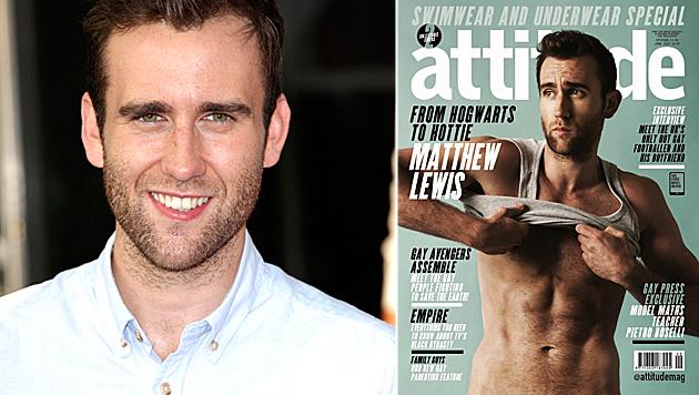"""Matthew Lewis zeigt seinen Sixpack im """"Attitude""""-Magazin. (Bild: Viennareport, Attitude)"""