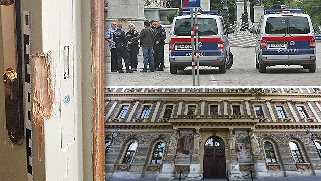 Palais-Epstein-Einbruch geklärt: 3 Täter in Haft (Bild: APA/KATHARINA SCHELL, Peter Tomschi, APA/HERBERT P. OCZERET)