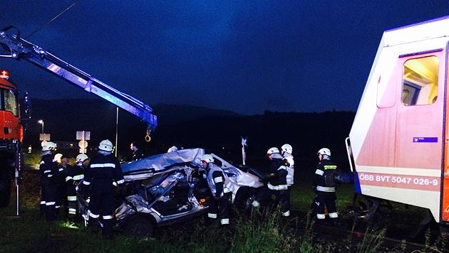 Zugunglück: Unfalllenker besaß keinen Führerschein (Bild: Sandra Ramsauer)