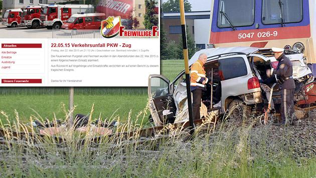 """Bürgermeister: """"Tragödie, die ihresgleichen sucht"""" (Bild: APA/PAUL PLUTSCH, Screenshot FF Purgstall)"""