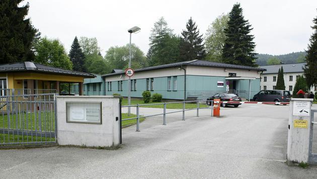 Das Flüchtlingszentrum Thalham (Bild: APA/MANFRED FESL)