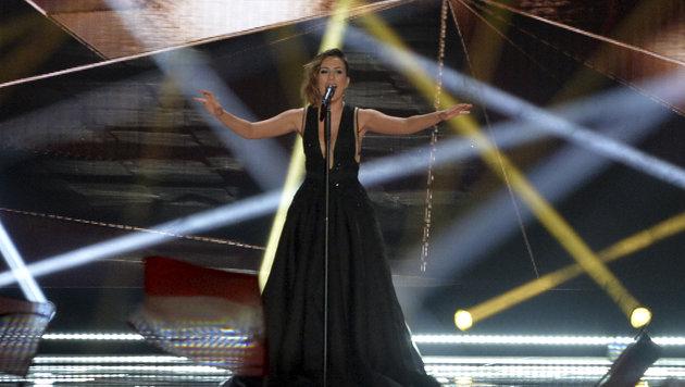 Elhaida Dani aus Albanien (Bild: AP/Kerstin Joensson)