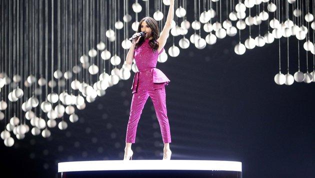 Conchita Wurst eröffnete den Eurovision Song Contest 2014 (Bild: APA/GEORG HOCHMUTH)