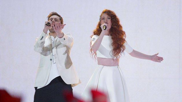 Morland und Debrah Scarlett aus Norwegen (Bild: APA/AP)