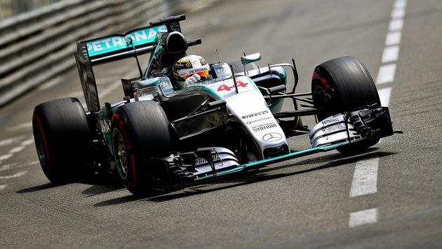 "Lewis Hamilton rast in Monte Carlo zu ""Pole"" (Bild: EPA)"