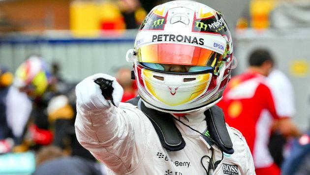 "Lewis Hamilton rast in Monte Carlo zu ""Pole"" (Bild: APA/EPA/SRDJAN SUKI)"