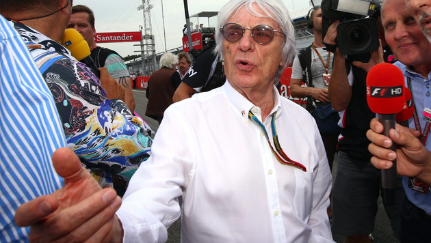 So will Ecclestone den F1-Teams sparen helfen (Bild: APA/EPA/JENS BUETTNER)