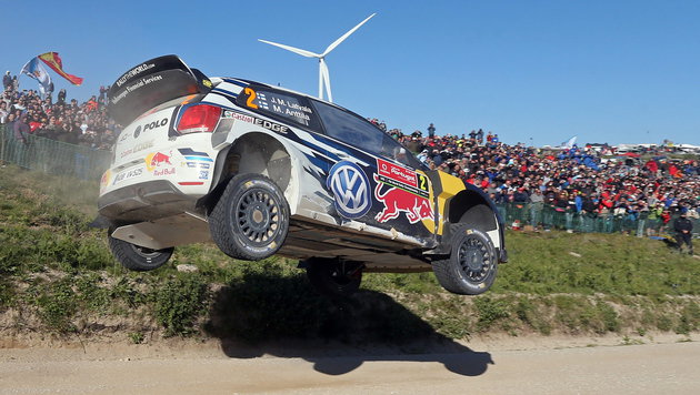 Volkswagen zieht sich aus Rallye-WM zurück (Bild: APA/EPA/JOSE COELHO)