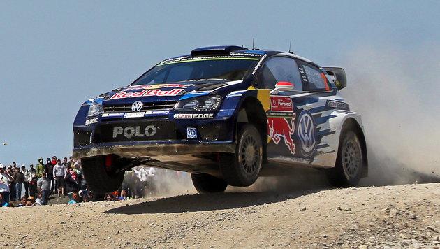 Latvala führt VW-Dreifachsieg in Portugal an (Bild: APA/EPA/JOSE COELHO)