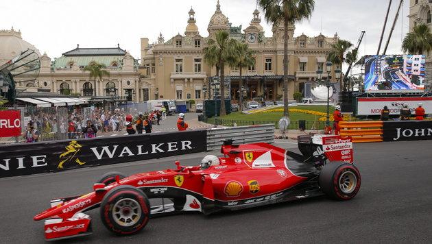Rosberg triumphiert zum 3. Mal in Folge in Monaco (Bild: APA/EPA/VALDRIN XHEMAJ)