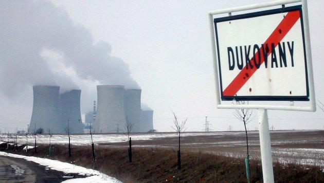 Tschechien: Laufzeit für AKW Dukovany verlängert (Bild: APA/ANDREAS TROESCHER)