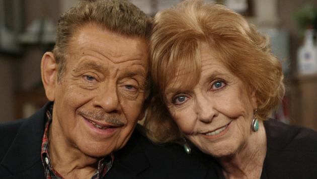 Ben Stillers Eltern Jerry Stiller und Anne Meara (Bild: AP/STEFANO PALTERA)