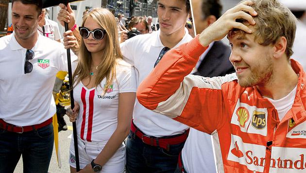 "Grid Boys ""inakzeptabel""! Vettel braucht Mädels (Bild: AP, APA/EPA/SRDJAN SUKI)"