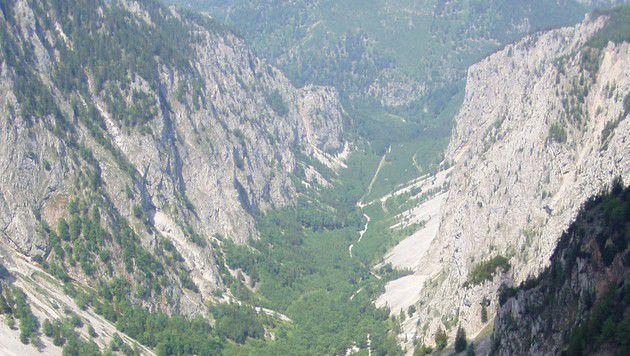 Das Höllental (Bild: Wikicommons)
