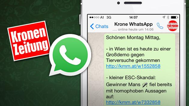 """Das sind die neuen Gratis-Dienste der """"Krone"""" (Bild: """"Krone""""-Grafik)"""