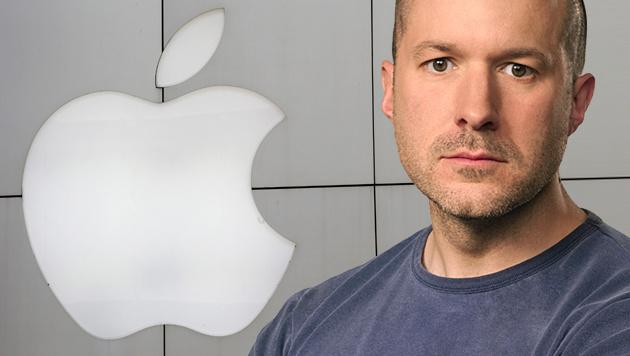 Beförderung für Apple-Designer Jony Ive (Bild: APA/EPA, Apple, krone.at-Grafik)