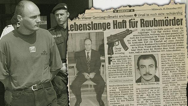 """DNA eines Mörders klärt Überfall nach 22 Jahren (Bild: """"Krone-Archiv)"""